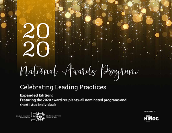 2020 Awards Booklet - Expanded edition